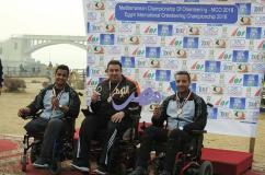 الرائد محمود عصام الكومى ابن طنطا بطلا لبطولة مصر الدولية للملاحه |