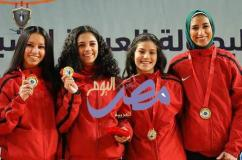 مصر تتصدر البطوله العربيه للسلاح  