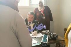 بالتعاون مع جامعات السويس والزقازيق بيت العائلة المصرية يتابع القوافل الطبية بالسويس  