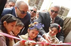 عشماوي وعجلان يستكملا مسيرة حل كثافة الفصول بالقليوبية بافتتاح مدارس جديده  