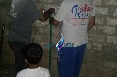 جمعية رسالة وقافلة من احياها تم تركيب مياة اليوم بمشاركة 5 متطوعين  