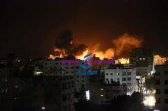 بعد الاتفاق على الهدنه مازال قطاع غزة يقصف والمقاومة ترد |