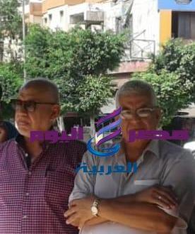 قيادات نهضة مصر تسير على ألأقدام فى شوارع ألإسكندرية  
