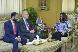 السفير الأرجنتيني بمصر في محافظة دمياط لبحث سبل توطيد العلاقات التجارية بين البلدين |