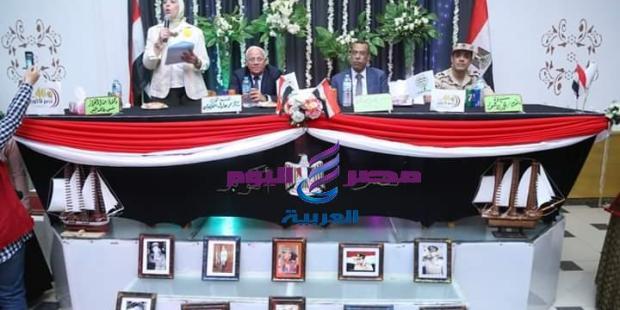 محافظ بورسعيد يشهد احتفالية تكريم ابطال ٦ اكتوبر  