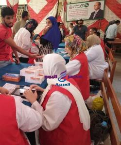 فحص ما يقرب من 32 ألف طالب بالفرقة الأولى بالمبادرة الرئاسية لفيروس سي |