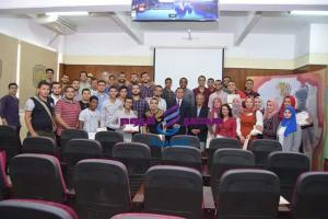 جامعة سوهاج تكرم 160 طالب لاجتيازهم تدريبات معسكر الإبداع وريادة الأعمال  
