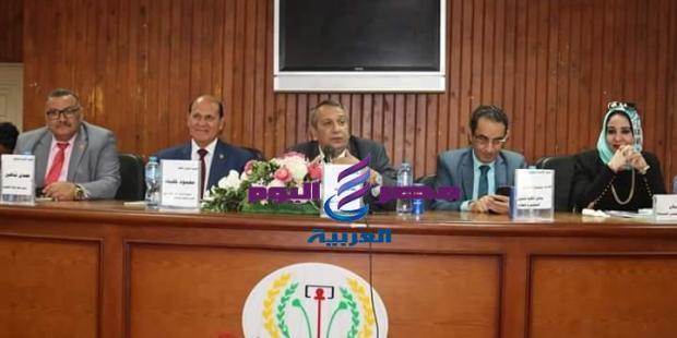 ندوة دور التنمية الشاملة فى بناء المواطن المصرى بكلية الآداب بجامعة المنصورة |