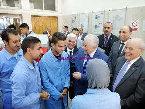 وزيرا التربية والتعليم والإنتاج الحربي في جولة تفقدية بمدرسة الإنتاج الحربي للتكنولوجيا التطبيقية بالسلام