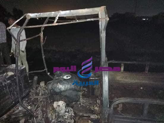 إرتفاع أعداد ضحايا حريق إيتاي البارود وحصر الخسائر الماليه في المعدات  