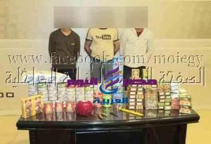 ضبط 3 أشخاص بالقاهرة لقيامهم بإرتكاب واقعة سرقة من داخل المتاجر
