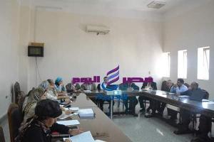 مجلس شئون التعليم والطلاب (156) بجامعة الفيوم