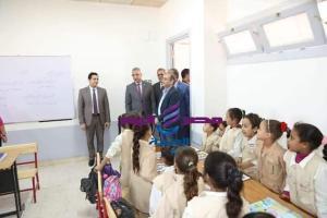 محافظ سوهاج يفتتح مدرسة المحاسنة الابتدائية بمركز جرجا |