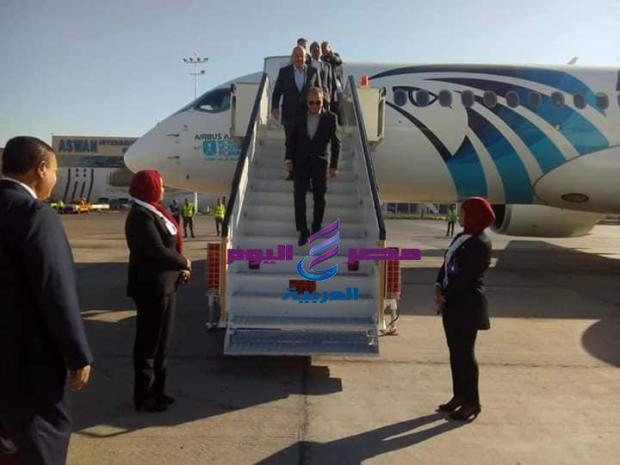 مصر للطيران الناقل الرسمي لمؤتمر السلام والتنمية المستدامة  