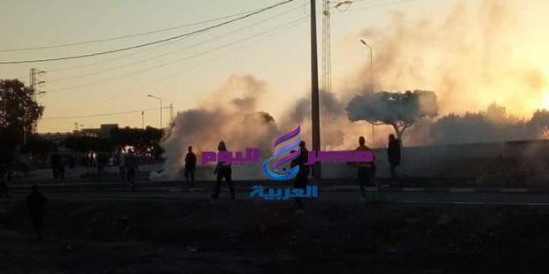احتجاجات متواصلة بمدينة جلمه بتونس |