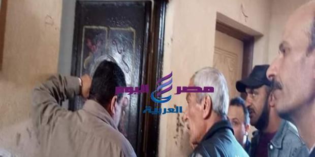 إخلاء وحدتين سكنيتين ببورسعيد بعد اقتحامهما |