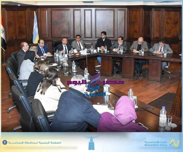 محافظ الاسكندرية يجتمع باعضاء مجلس النواب من اجل الشارع السكندري |