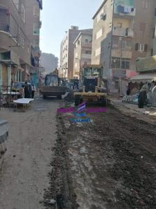 رفع 20 طن أتربة ومخلفات في حملة نظافة بالمنشأه في سوهاج |