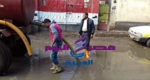 رؤساء القرى فى مواجهة آثار الأمطار بالقرى   القرى