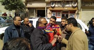 حملة اشغالات مكبرة بمدينة المحلة الكبرى   حملة