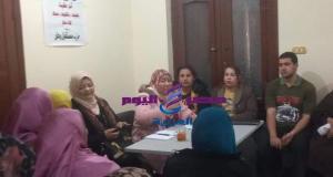 مستقبل وطن امانة المراة مركز المنيا تنظم ندوات للتوعية بفيرس كورونا -