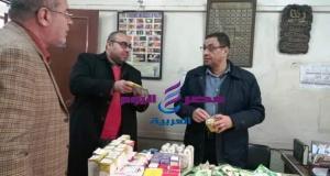 ضبط ( 300 عبوة ) دواء بيطري مخالف في حملة تفتيشية على مراكز بيع الأدوية البيطرية بمركز الحسينية - ضبط