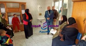 وكيل وزارة الصحة بالشرقية يتابع المبادرة الرئاسية لصحة المرأة بأولاد صقر | الشرقية