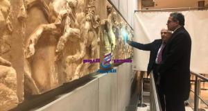 جولة وزير السياحة والآثار بالمتاحف الكبري بأثينا | وزير السياحة