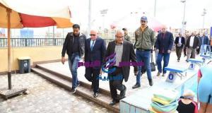محافظ بورسعيد يطلق المرحلة الثانية لمبادرة صيفنا مميز في براعم السباحة | محافظ بورسعيد يطلق