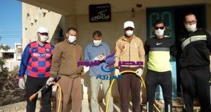شباب قرية اسمنت بالوادي الجديد تنطلق حملة تعقيقم للقرية بالجهود الذاتية | بالوادي الجديد