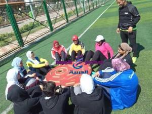 طالبات جامعة المنصورة في ملتقى قائدة الغد بالإسكندرية | جامعة المنصورة