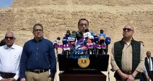 رئيس الوزراء وسفراء العالم يفتتحون هرم زوسر المدرج بسقارة بعد ترميمه وتطوير المنطقة المحيطة | رئيس