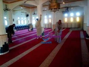 الشيخ خشبه..حملات تنظيف وتعقيم المساجد مستمرة بالإسكندرية   الشيخ