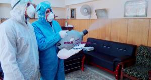 محافظ الدقهلية يحارب فيروس كرونا
