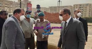 توزيع الكمامات والقفازات علي عمال النظافة بكفر الشيخ | توزيع الكمامات والقفازات علي عمال النظافة