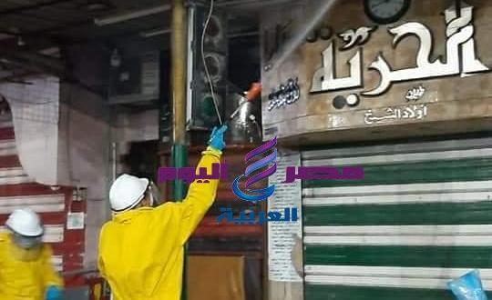 بالصور استمرار الجهود المكثفة لحملات التعقيم والتطهير بكافة أنحاء المحافظة | حملات