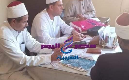 مدير الدعوة بالإسكندرية يتفقد ادارة شرق | ادارة شرق