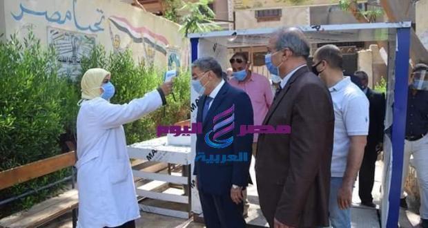 اللواء أسامه القاضى محافظ المنيا يتابع سير إمتحانات الثانوية العامة | محافظ المنيا