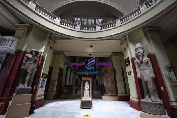 إعادة فتح المتحف المصري بالتحرير امام الزائرين