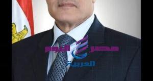 الفريق محمد العصار وزير الإنتاج الحربى في زمة اللة