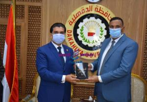 الدكتور أيمن مختار وأحمد سمير يدشنان رياضة الميني فوتبول بمحافظة الدقهلية | أحمد سمير