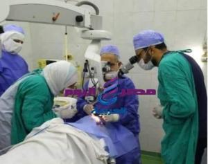 إجراء ١٨٢ عملية جراحية ضمن المبادرة الرئاسية للقضاء على قوائم الإنتظار بالبحيرة