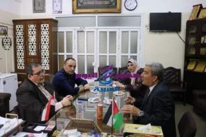 المعاهد الأزهرية تستقبل رئيس الفريق الوطني لإعادة إعمار قطاع غزة | الفريق الوطني