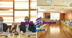 الاجتماع الشهرى بجامعة كفر الشيخ بحضور المحافظ