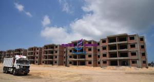 """بالصور.. محافظ بورسعيد يتفقد أعمال إنشاء """"كومبوند"""" سكني ترفيهي ( داون تاون)"""