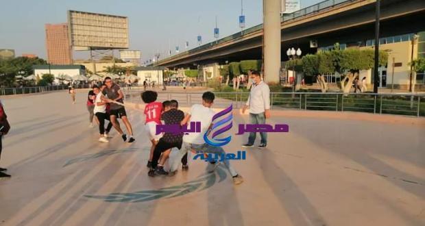القاهرة خلال العيد العاب ترفيهية بمركز شباب الجزيرة