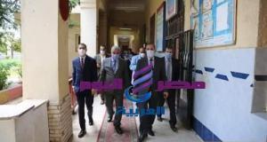 محافظ كفر الشيخ وجولة تفقدية لمقرات اللجان الإنتخابية | محافظ كفر الشيخ