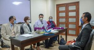 عازر تترأس لجنة إختبارات الدورات التدريبية بالإسكندرية   إختبارات