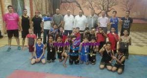 تكريم الفائزين في البطولة الألعاب الفردية كونغ فو ملاكمه بمركز شباب عين الصيرة | تكريم الفائزين