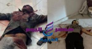 مصرع عنصرين ارهابيين شديدى الخطورة فى تبادل لاطلاق النار مع الشرطة.